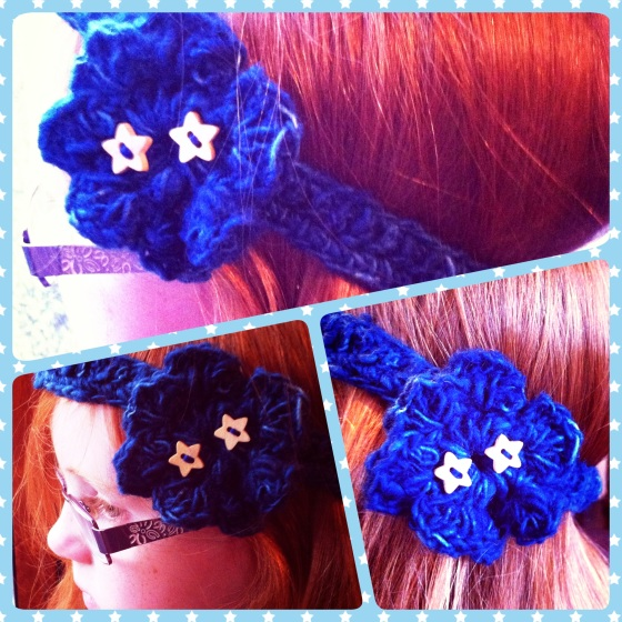Headband for my little flower