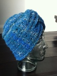 turban on head side