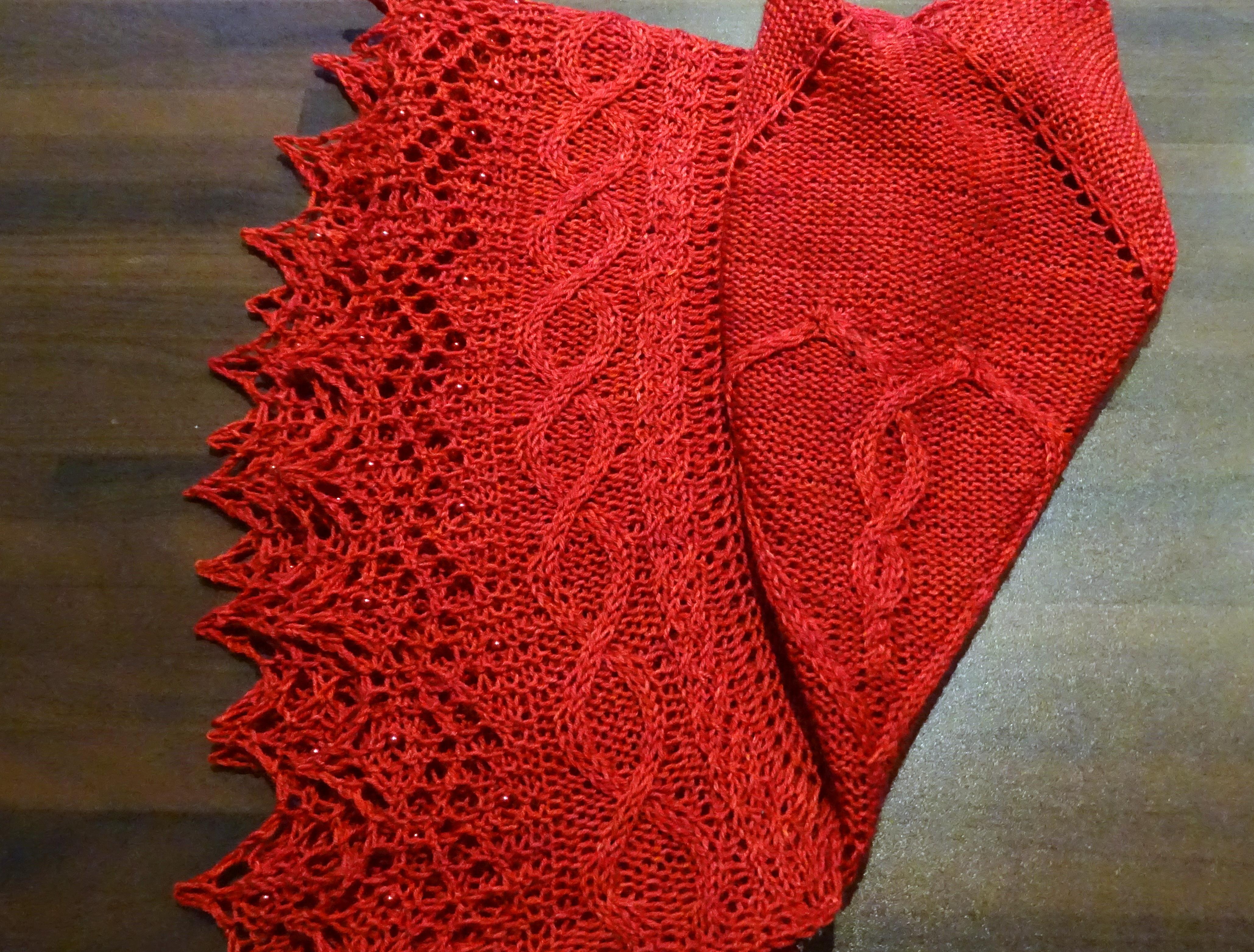 Irish Lace Knitting Pattern : Shawl patterns an irish knit odyssey