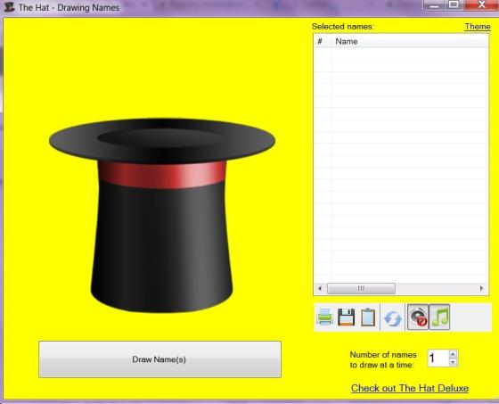 empty hat