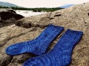 socks on the rocks